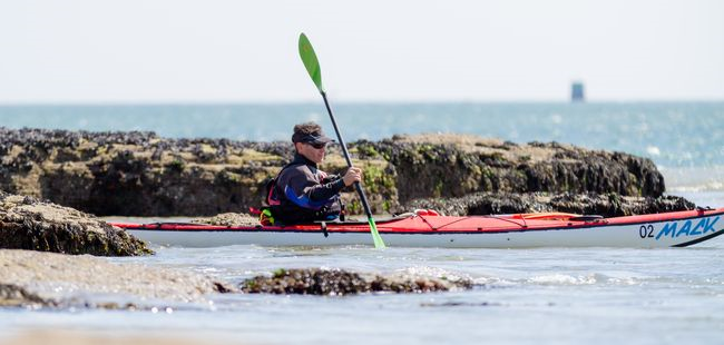 Location kayak solo