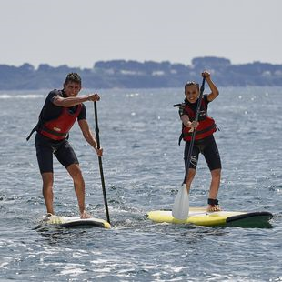 Location groupe stand-up paddle